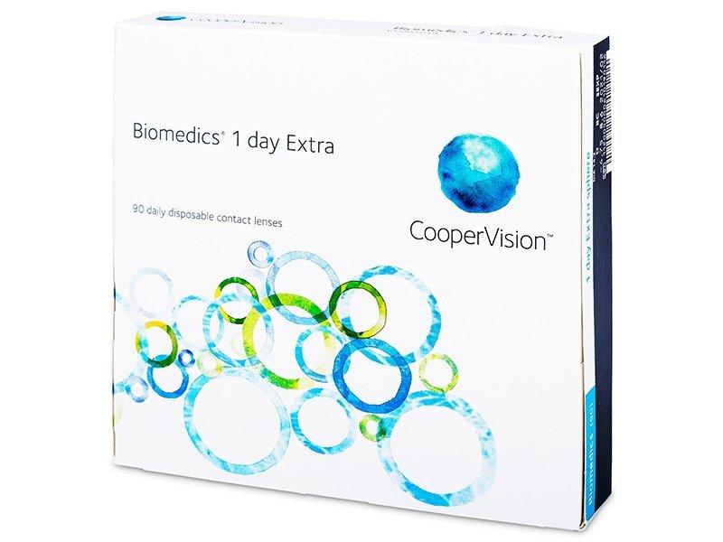 Biomedics 1 Day Extra (90čoček) - Jednodenní kontaktní čočky - CooperVision