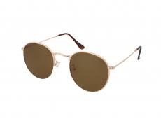 Kulaté sluneční brýle - Crullé M6002 C1