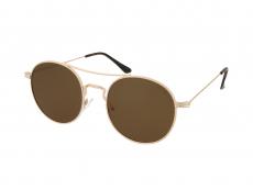 Kulaté sluneční brýle - Crullé M6016 C3