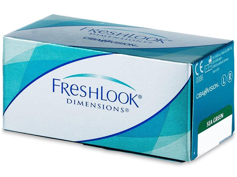 FreshLook Dimensions - dioptrické (6čoček) - Barevné kontaktní čočky - Alcon