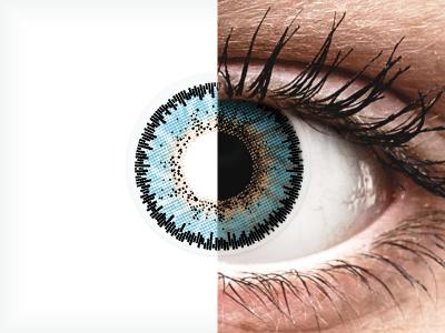 ColourVUE 3 Tones Aqua - nedioptrické (2čočky)