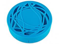 Příslušenství - Kazetky se zrcátkem - Kazetka s ornamentem - modrá