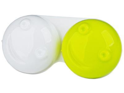 Pouzdro na čočky 3D - zelené