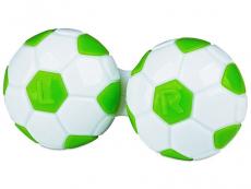 Příslušenství - Pouzdro na čočky Fotbal - zelené
