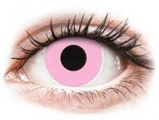 Speciální barevné čočky - nedioptrické - ColourVUE Crazy Lens - Barbie Pink - nedioptrické (2čočky)