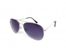 Sluneční brýle Pilot - Sluneční brýle Alensa Pilot Silver