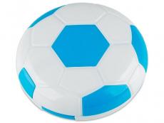 Pouzdra na čočky a cestovní sady - Kazetka Fotbalový míč - modrá