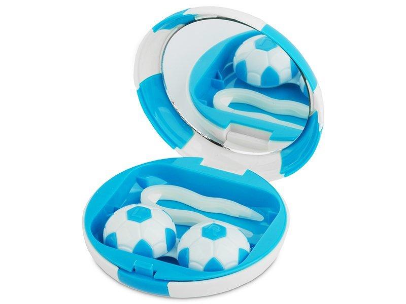 Kazetka Fotbalový míč - modrá
