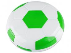 Pouzdra na čočky a cestovní sady - Kazetka Fotbalový míč - zelená