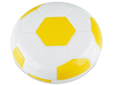 Kazetka Fotbalový míč - žlutá