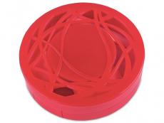 Pouzdra na čočky a cestovní sady - Kazetka s ornamentem - červená