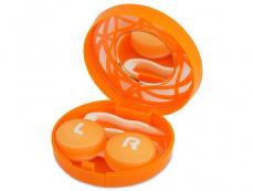 Příslušenství - Kazetka s ornamentem - oranžová