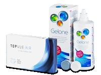 TopVue Air (6 čoček) + roztok Gelone 360 ml