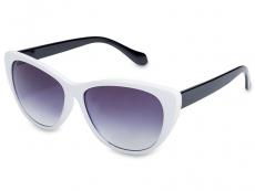 Dámské sluneční brýle - Sluneční brýle OutWear - White/Black