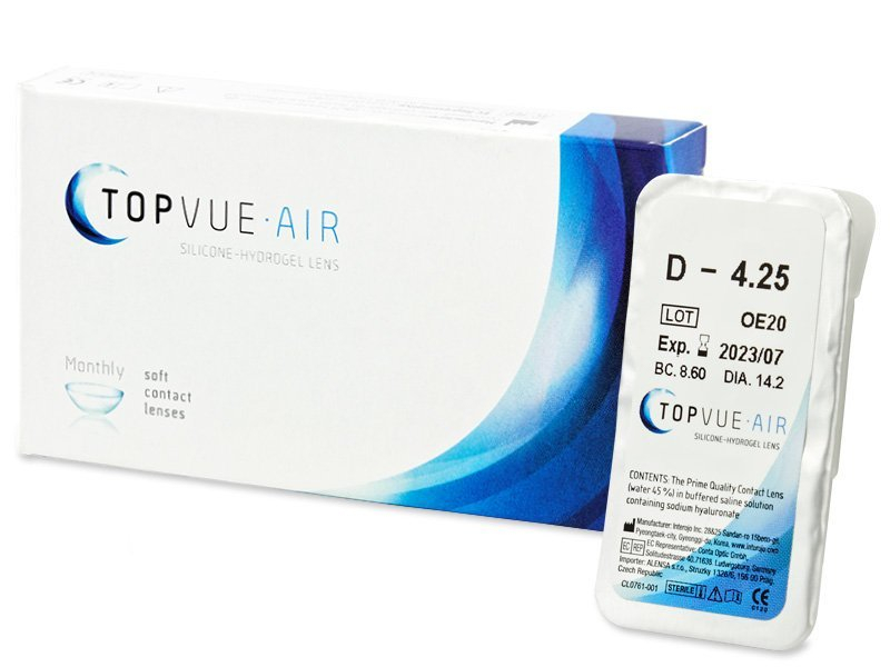 Předchozí design - TopVue Air (1 čočka)