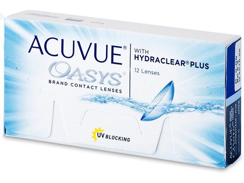 Acuvue Oasys (12čoček) - Čtrnáctidenní kontaktní čočky - Johnson and Johnson