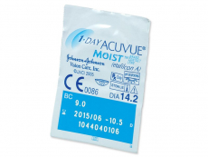 1 Day Acuvue Moist (180 čoček)