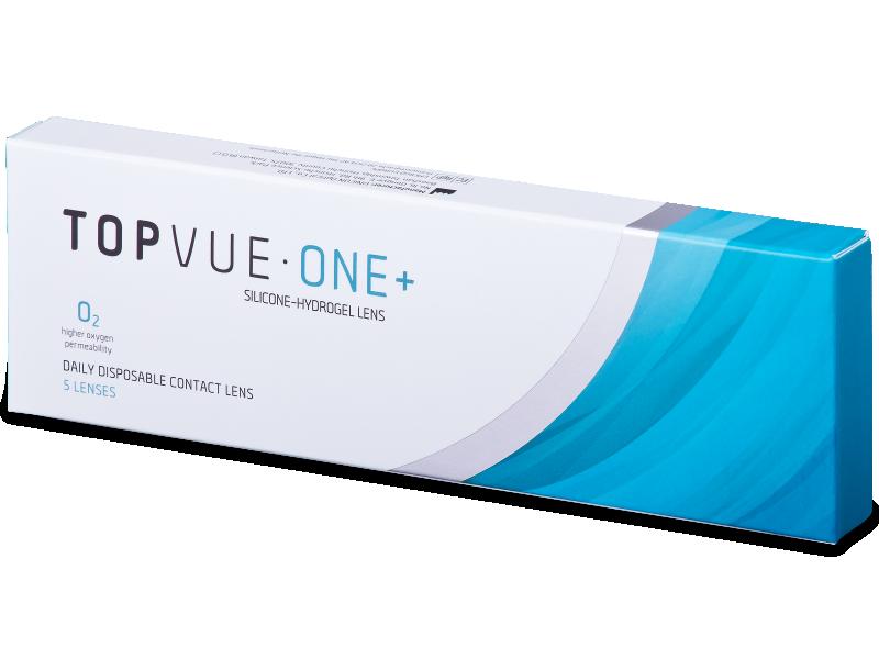 TopVue One+ (5 čoček) - Jednodenní kontaktní čočky