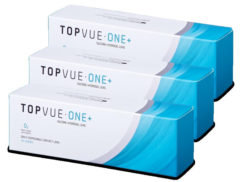 TopVue One+ (90čoček) - Jednodenní kontaktní čočky