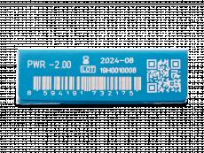 TopVue One+ (5 párů čoček) - Náhled parametrů čoček