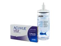 Acuvue Vita (6 čoček) + roztok Laim-Care 400 ml