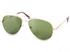 Sluneční brýle Pilot - Sluneční brýle Pilot Gold/Gun