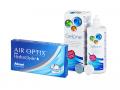 Air Optix plus HydraGlyde (3 čočky) + roztok Gelone 360 ml