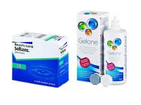 SofLens 38 (6 čoček) + roztok Gelone 360 ml