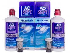 Výhodné balíčky roztoků - Roztok AO SEPT PLUS HydraGlyde 2 x 360ml