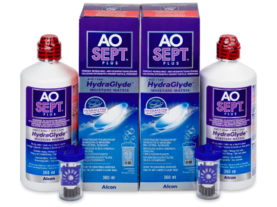 Roztok AO SEPT PLUS HydraGlyde 2 x 360 ml