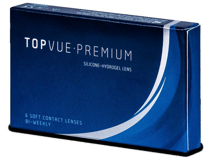 TopVue Premium (6čoček) - Čtrnáctidenní kontaktní čočky