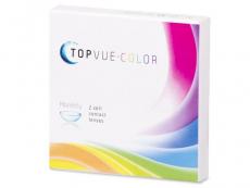 Barevné a Crazy kontaktní čočky - TopVue Color - dioptrické (2čočky)