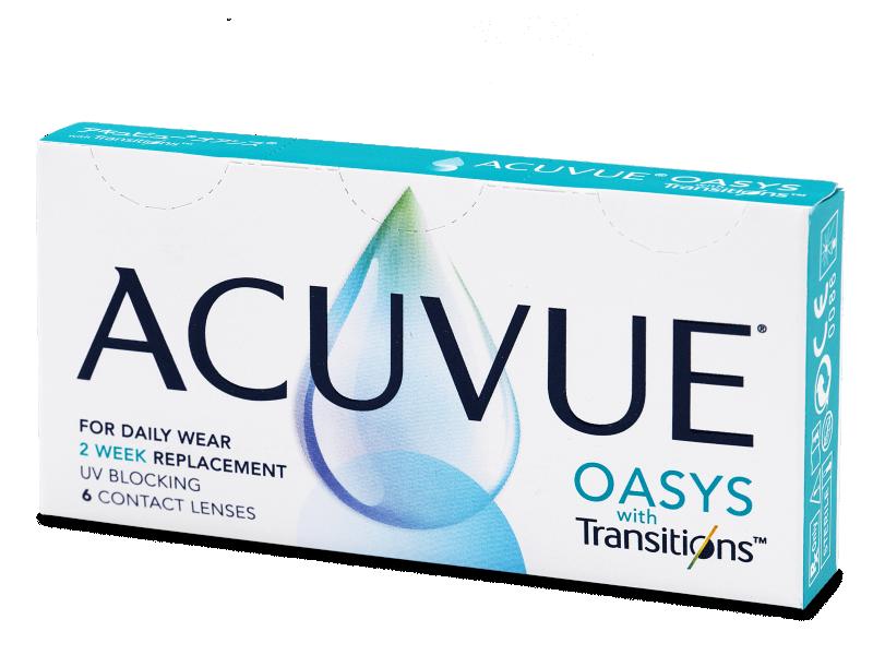 Acuvue Oasys with Transitions (6 čoček) - Čtrnáctidenní kontaktní čočky
