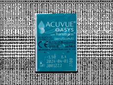 Acuvue Oasys with Transitions (6 čoček) - Vzhled blistru s čočkou