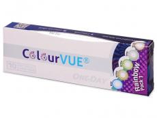 Kontaktní čočky Maxvue Vision - ColourVue One Day TruBlends Rainbow - nedioptrické (10čoček)