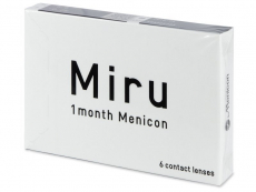Měsíční kontaktní čočky - Miru 1 Month (6 čoček)