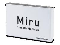 Miru 1 Month (6 čoček) - Měsíční kontaktní čočky