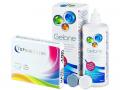 TopVue Color - dioptrické (2čočky) +roztokGelone360 ml