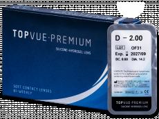 TopVue Premium (1čočka) - Čtrnáctidenní kontaktní čočky