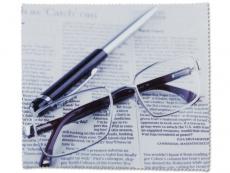 Příslušenství k brýlím - Čistící hadřík na brýle - noviny
