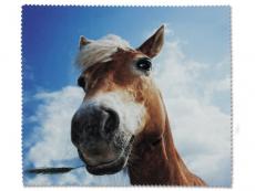 Příslušenství k brýlím - Čistící hadřík na brýle - kůň