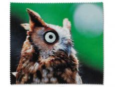 Příslušenství k brýlím - Čistící hadřík na brýle - sova