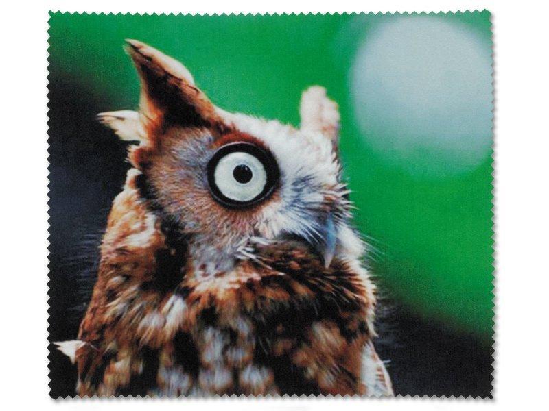 Čistící hadřík na brýle - sova  - Ostatní