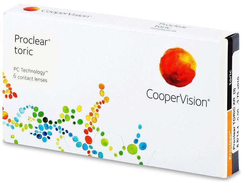 Torické kontaktní čočky - Proclear Toric XR (6čoček)
