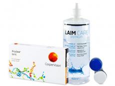 Výhodné balíčky kontaktních čoček - Proclear Toric XR (6 čoček) +roztokLaim-Care 400ml