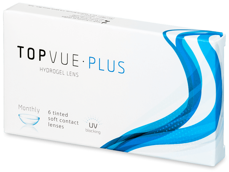 TopVue Plus (6 čoček) - Měsíční kontaktní čočky
