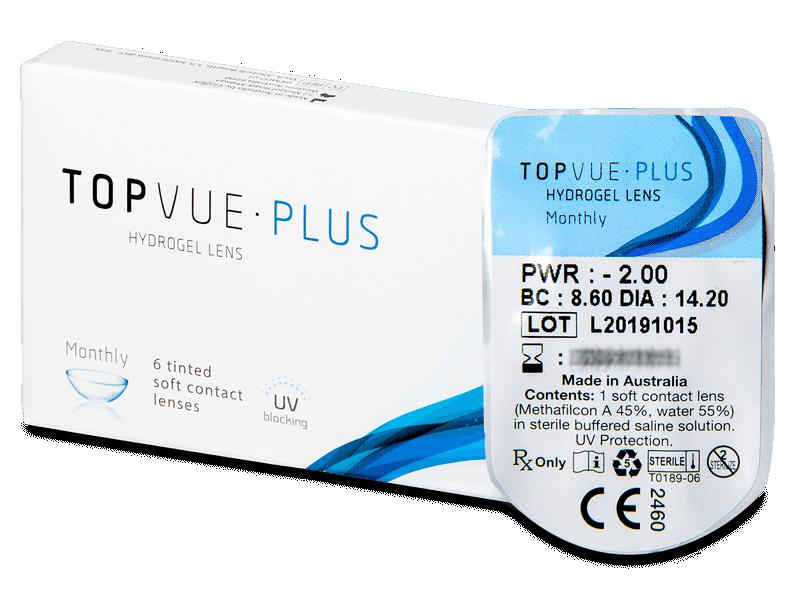 TopVue Plus (1 čočka) - Měsíční kontaktní čočky