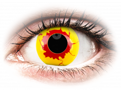 ColourVUE Crazy Lens - Reignfire - nedioptrické jednodenní (2čočky)