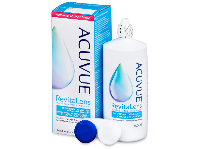 Roztok Acuvue RevitaLens 360 ml