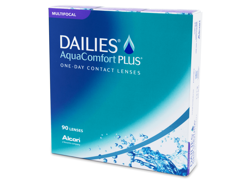 Dailies AquaComfort Plus Multifocal (90 čoček)